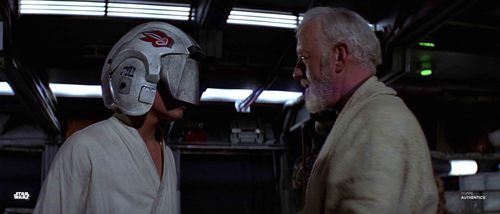 Luke Skywalker and Obi-Wan Kenobi