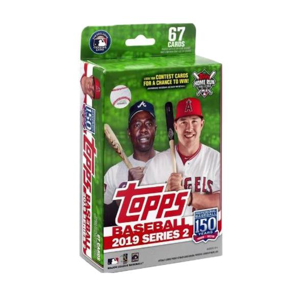 Toronto Blue Jays 2019 MLB Baseball Card Hanger Pack - Series 2 by Topps