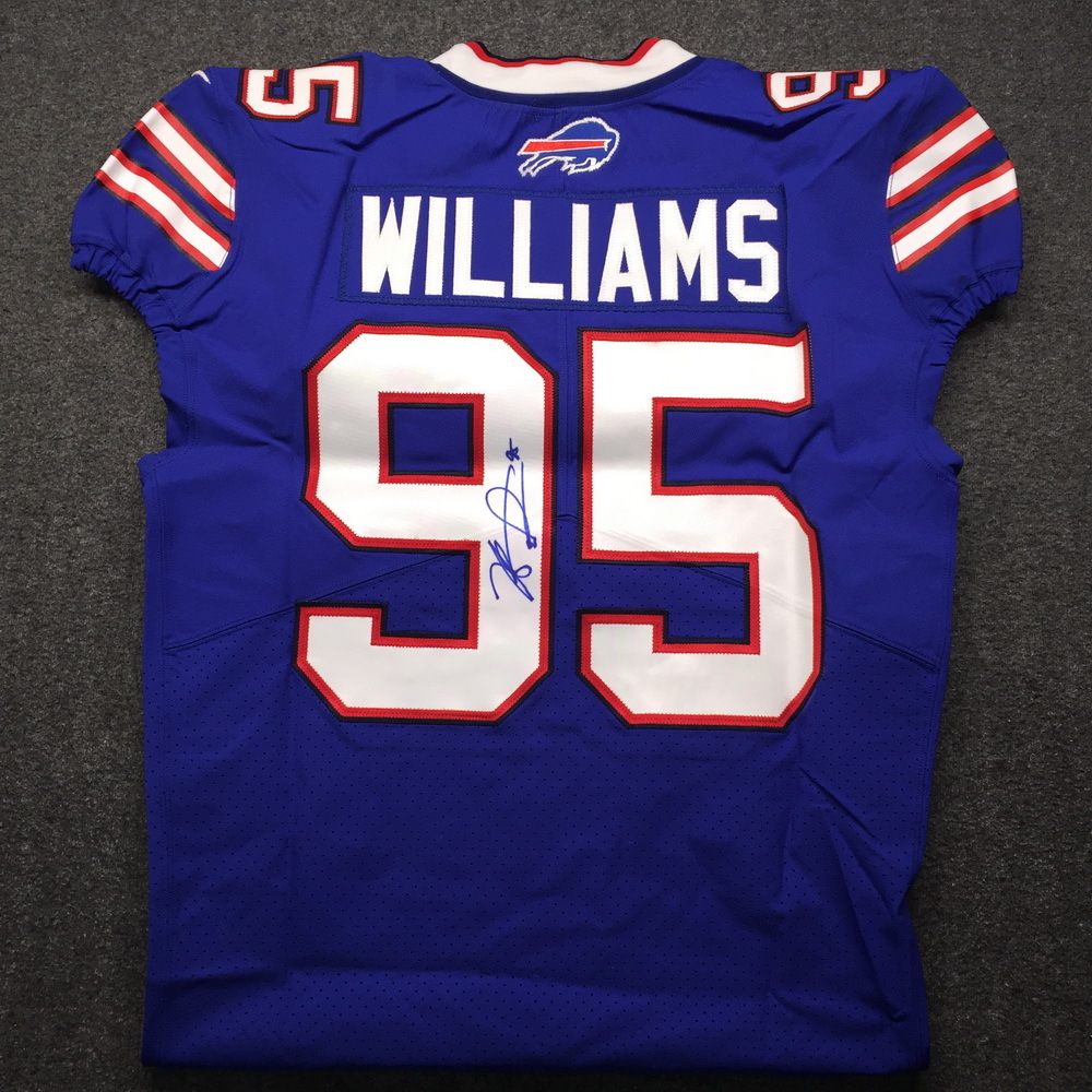 NFL Auction | Bills - Kyle Williams Signed Authentic Jersey Size 44