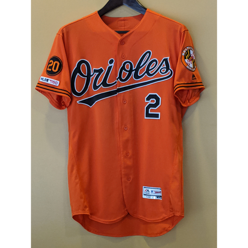 Photo of Jonathan Villar - Orange Alternate Jersey: Team-Issued