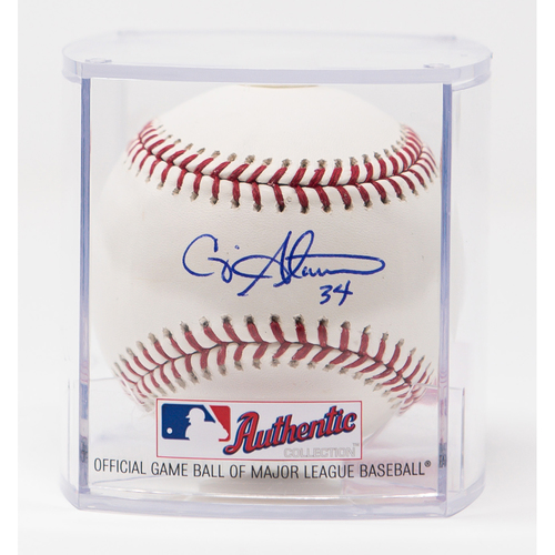 Photo of Craig Stammen Autographed Baseball