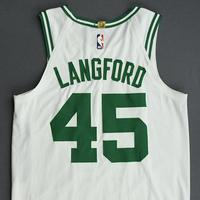 Romeo Langford - Boston Celtics - Game-Issued Association Edition Rookie Season Jersey - 2019-20 Season