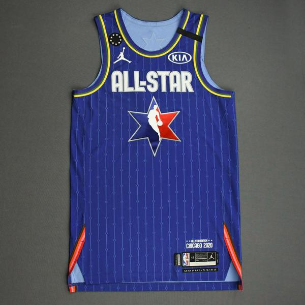 Image of Damian Lillard - 2020 NBA All-Star - Team LeBron - Autographed Jersey