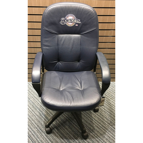 Photo of Team-Issued Milwaukee Brewers 2019 Home Clubhouse Chair (LOCAL PICKUP ONLY)