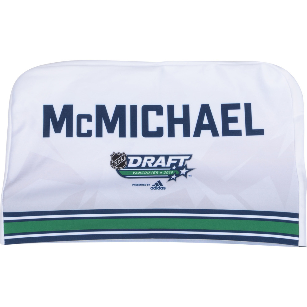Conno McMichael Washington Capitals 2019 NHL Draft Seat Cover - Second set (Not Used)