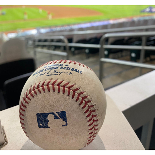 Photo of 2020 NL MVP & Silver Slugger: Freddie Freeman Game-Used Walk-Off Home Run Baseball - 9/25/20