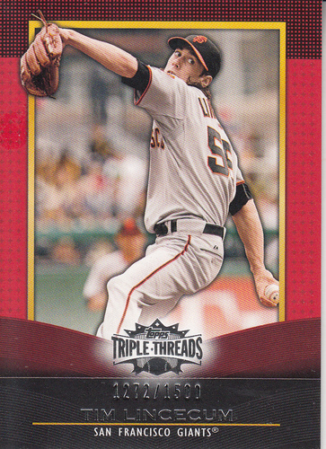 Photo of 2011 Topps Triple Threads #45 Tim Lincecum