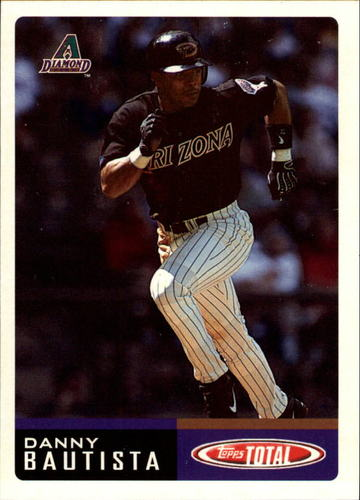Photo of 2002 Topps Total #301 Danny Bautista