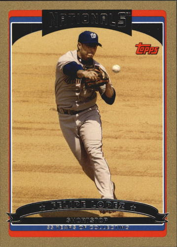 Photo of 2006 Topps Update Gold #23 Felipe Lopez