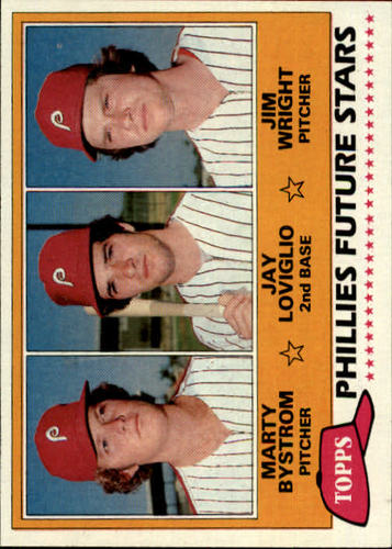 Photo of 1981 Topps #526 Marty Bystrom RC/Jay Loviglio RC/Jim Wright