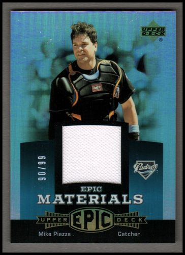 Photo of 2006 Upper Deck Epic Materials Teal #MP2 Mike Piazza Jsy/99