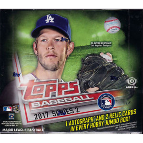 Photo of 2017 Topps Baseball Series 2 Jumbo Box