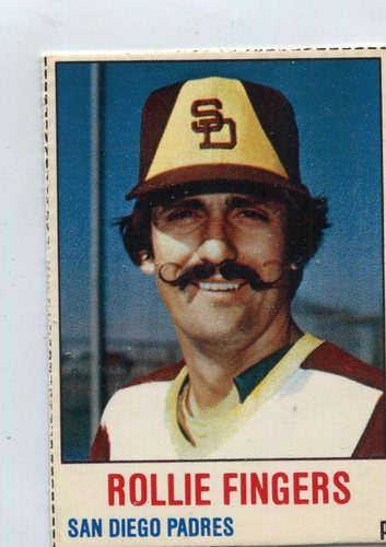 Photo of 1978 Hostess #144 Rollie Fingers-- Hall of Fame Class of 1992