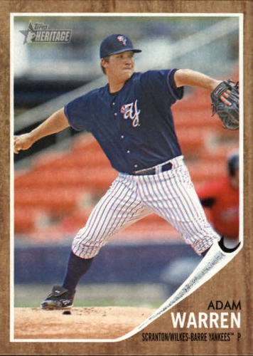 Photo of 2011 Topps Heritage Minors #170 Adam Warren