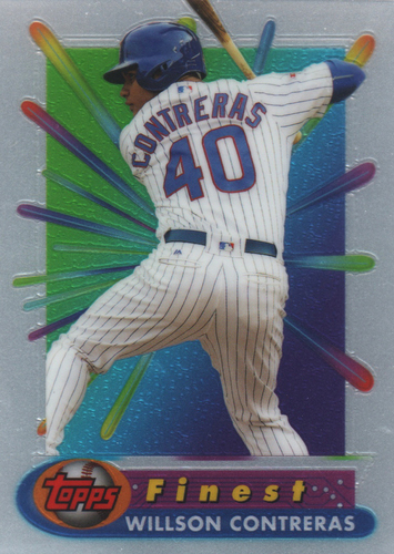 Photo of 2017 Finest '94-'95 Finest Recreates #BRWC Willson Contreras