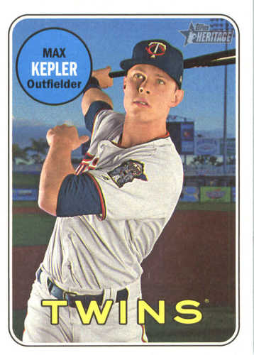 Photo of 2018 Topps Heritage #73 Max Kepler