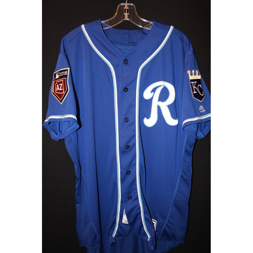 Photo of Game-Used Spring Training Jersey: Ramon Torres (Size 46)