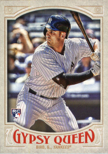 Photo of 2016 Topps Gypsy Queen #73 Greg Bird RC