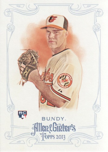 Photo of 2013 Topps Allen and Ginter #79 Dylan Bundy Rookie Card