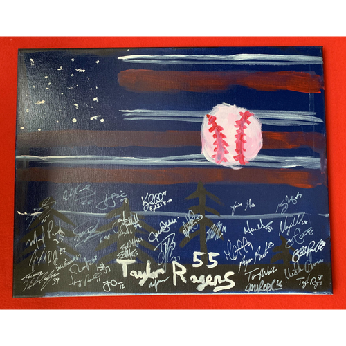 Photo of 2019 Twins Favorite Things Auction: Taylor Rodgers Painting