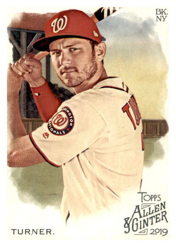 Photo of 2019 Topps Allen and Ginter #73 Trea Turner