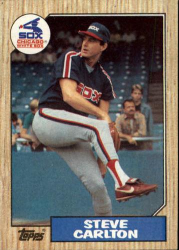 Photo of 1987 Topps #718 Steve Carlton