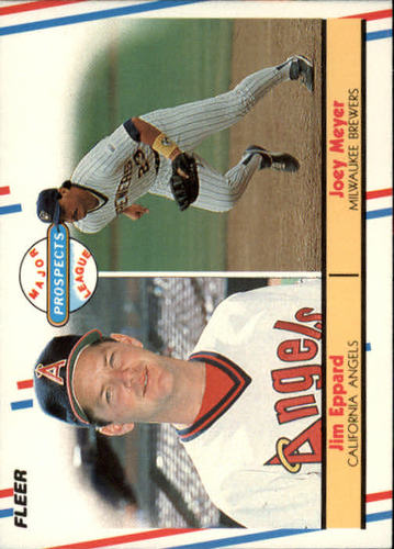Photo of 1988 Fleer #645 Joey Meyer/Jim Eppard RC