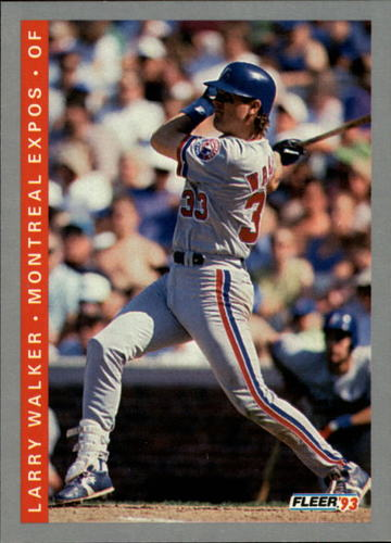 Photo of 1993 Fleer #81 Larry Walker