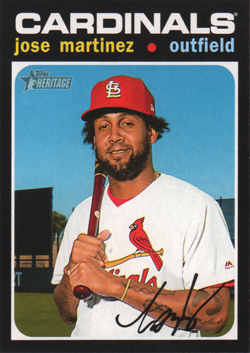 Photo of 2020 Topps Heritage #132 Jose Martinez