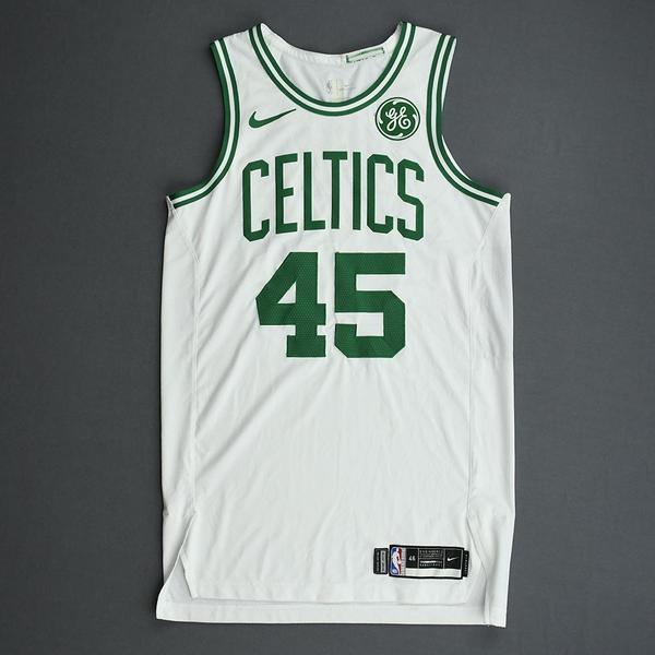 Image of Romeo Langford - Boston Celtics - Game-Issued Association Edition Rookie Season Jersey - 2019-20 Season