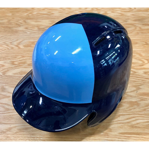 Photo of Rays Baseball Foundation: Team Issued Left Flap Helmet (2-Tone) - Choose Your Size!