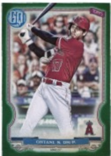 Photo of 2020 Topps Gypsy Queen Green #261 Shohei Ohtani