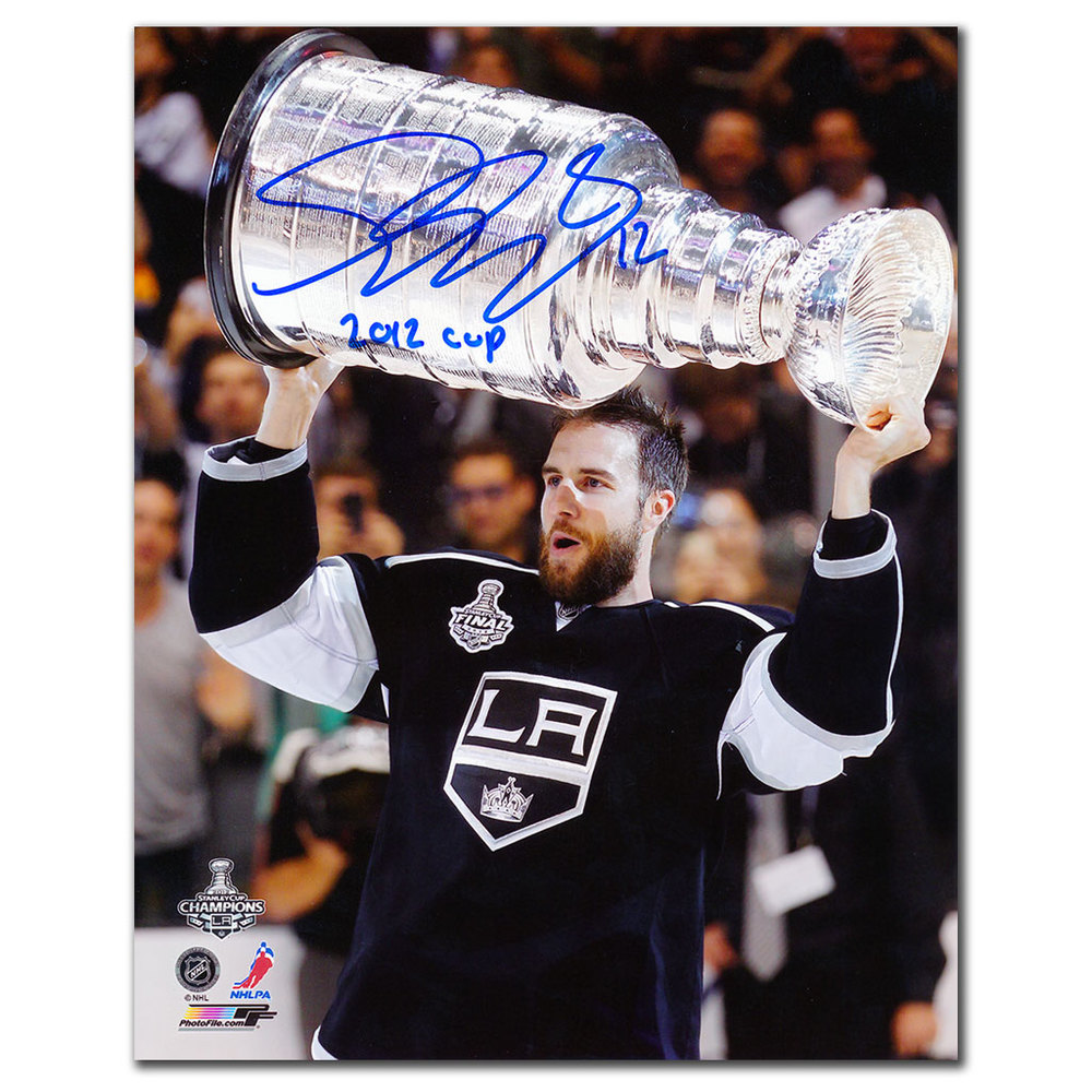 Simon Gagne Los Angeles Kings 2012 Cup Autographed 8x10