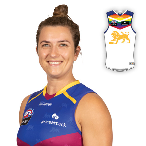 Photo of 2021 AFLW Pride Guernsey - Cathy Svarc