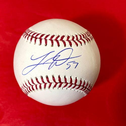 Taylor Widener Autographed Baseball