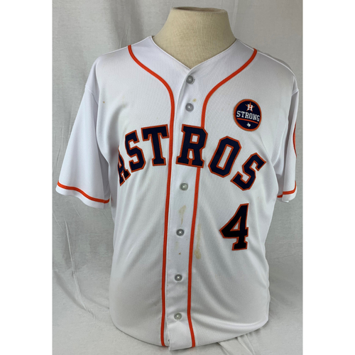 Photo of George Springer 2017 Game-Used Jersey