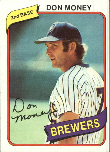 Photo of 1980 Topps #595 Don Money