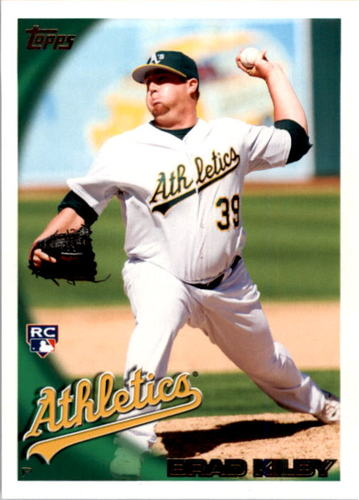 Photo of 2010 Topps #168 Brad Kilby RC
