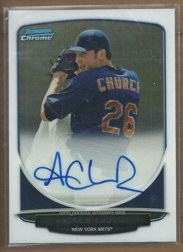 Photo of 2013 Bowman Chrome Draft Draft Pick Autographs #AC Andrew Church