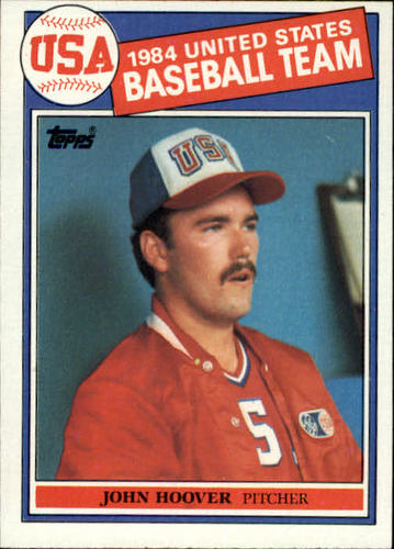 Photo of 1985 Topps #397 John Hoover OLY RC