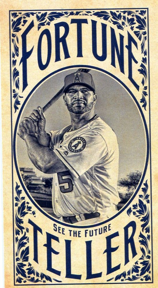2017 Topps Gypsy Queen Fortune Teller Mini #FTAP Albert Pujols