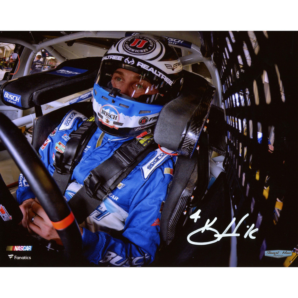 Kevin Harvick Autographed 8