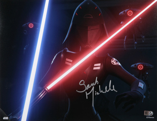 Sarah Michelle Gellar as Seventh Sister 11x14 Autographed In Silver Ink Photo