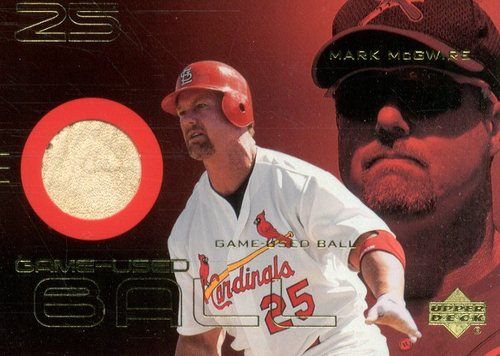 Photo of 2000 Upper Deck Gold Reserve Game Ball #BMM Mark McGwire