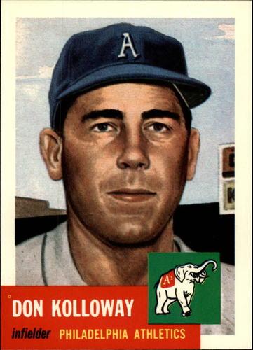 Photo of 1991 Topps Archives 1953 #97 Don Kolloway