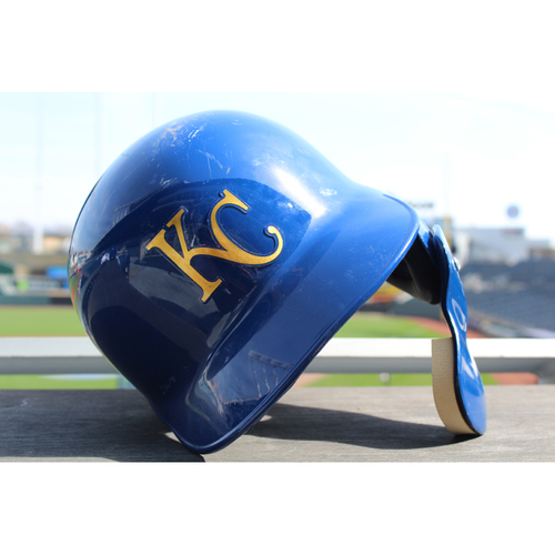 Photo of Team-Issued Batting Helmet: Jorge Soler (Size 7 1/4 - ARI at KC - 9/30/2017)