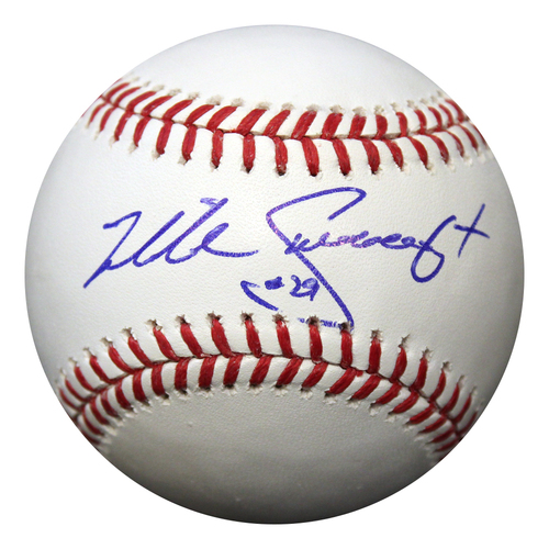 Photo of Autographed Baseball: Mike Sweeney