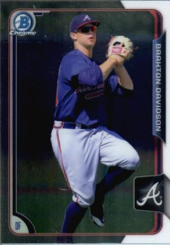 Photo of 2015 Bowman Chrome Draft #186 Braxton Davidson