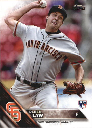 Photo of 2016 Topps Update #US72 Derek Law RC