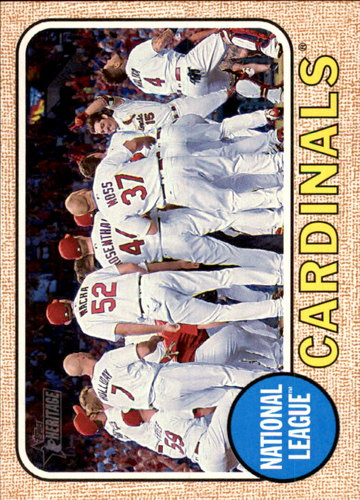 Photo of 2017 Topps Heritage #234 St. Louis Cardinals TC
